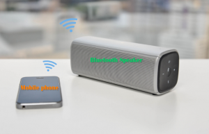 connect bluetooth speaker to iphone